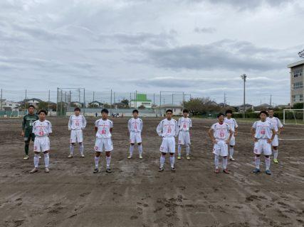 県2部リーグ vs真岡工業